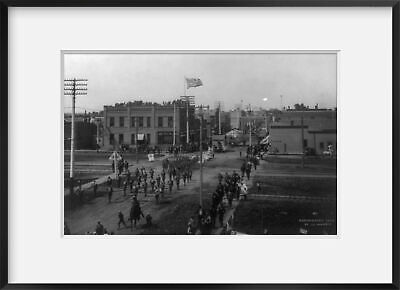 Photo Fourth of July Parade Mayville ND Trail County c1908