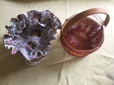 Longaberger 1998 Mother's Day Rings and ThingS Mothers Day Basket Combo