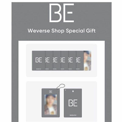 BTS Essential Edition Weverse Shop Special   Selfie Photocard -  Card Holder