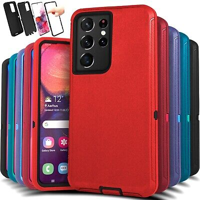 For Samsung Galaxy S21 21- Ultra Shockproof Protective Rugged Hard Case Cover