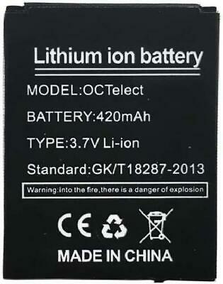Smart Watch Battery RYX-NX9 Rechargable Lithium Battery with 420MAH Capacity New