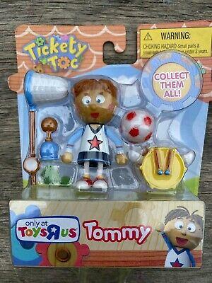 Just Play Tickety Toc Tommy Figure Toys R Us Exclusive NRFB 2013