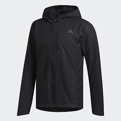 adidas Own the Run Hooded Wind Jacket Mens