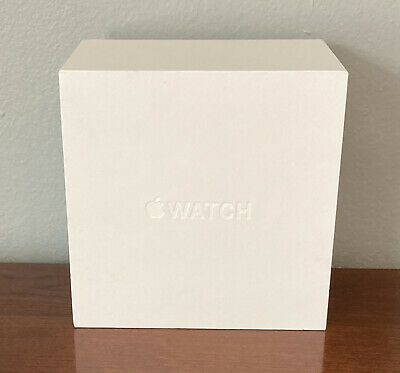 First Generation Apple Watch BOX ONLY 38mm Stainless Steel Complete Model A1553