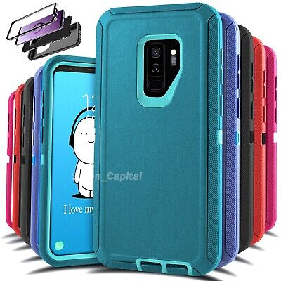 For Samsung Galaxy S9 S9- Heavy Duty Rugged Shockproof Protective Hard Case