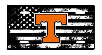 American Flag Tactical Tennessee Aluminium License Plate 6 x 12Lightwieght