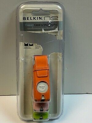 3 Belkin Classic Leather Case for iPod Shuffle in Package