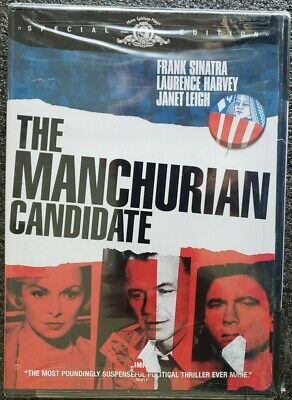 The Manchurian Candidate DVD 2004Special Edition Widescreen Frank Sinatra