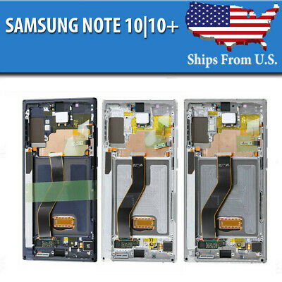 Samsung Galaxy Note 10  10- Plus LCD Replacement Screen Digitizer Frame OEM A