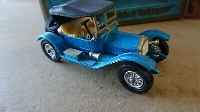 MATCHBOX MODELS OF YESTERYEAR Y-8 1914 STUTZ ROADSTER BOXED WHITE SEAT
