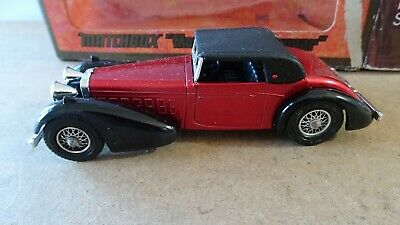MATCHBOX MODELS OF YESTERYEAR Y-17 1938 HISPANO SUIZA BOXED