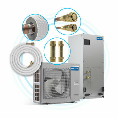 MDU18024036 2 to 3 Ton 20 SEER Variable Speed MrCool Universal Central Heat Pump