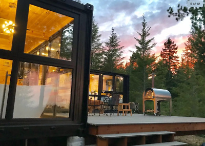 Glass House – a private gated 9 acre retreat on the Olympic Peninsula