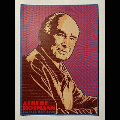Albert Hofmann Bicycle Day 2021 Art Print by Chuck Sperry 300