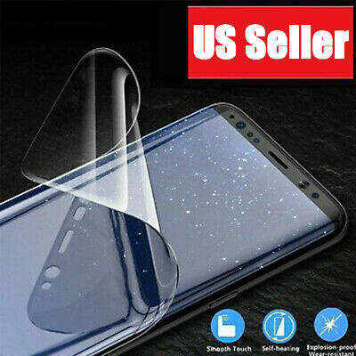 HYDROGEL Screen Protector For Samsung Galaxy S21 Ultra S10 S9 S8 Plus Note 20
