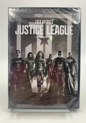 Zack Snyders Justice League 4h 1-Disc Set BRAND NEW Fast Shipping DVD
