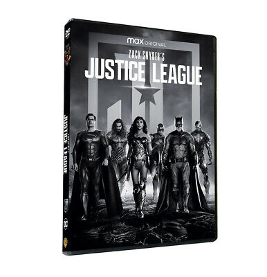 Zack Snyders Justice League 4h 1-Disc Set Region 1 BRAND NEW Fast Shipping