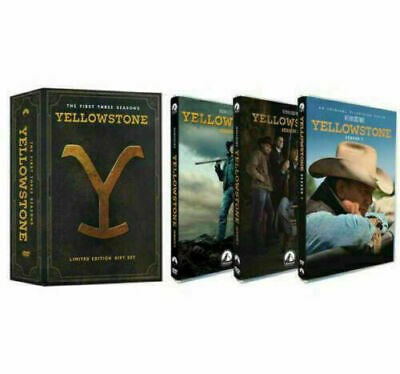 Yellowstone Season 1 - 2 - 3 DVD 12-Disc Brand New - Sealed  Free Shipping