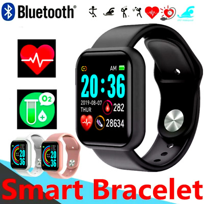 Waterproof Bluetooth Smart Watch Phone Mate Fitness Watch For Android Universal