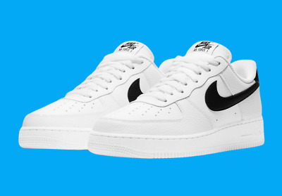 Nike Air Force 1 07 Shoes White Black CT2302-100 Mens Multi Size NEW