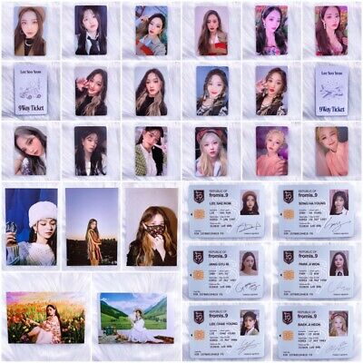 FROMIS-9 - 9 WAY TICKET 2ND SINGLE ALBUM OFFICIAL PHOTOCARD ID POSTCARD WE GO