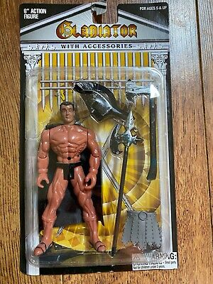 HTF Gladiator 6 Action Figure with Accessories Never Opened
