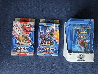 Digimon Fusion Trading Cards- 15 Blisters and 2 Decks BRAND NEW Unopened