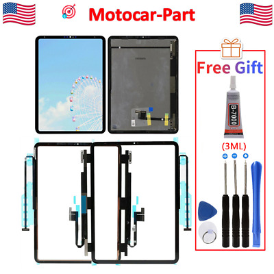 For Apple iPad Pro 11 2018 A2013 A1934 A1980 LCD Display Touch Screen Digitizer