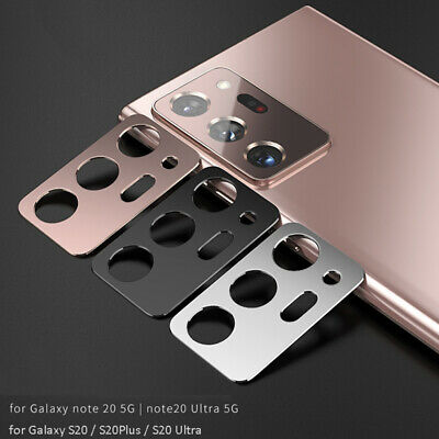 Metal Camera Lens Protector for Samsung Galaxy Note 20 S20 S21 Plus S21 Ultra