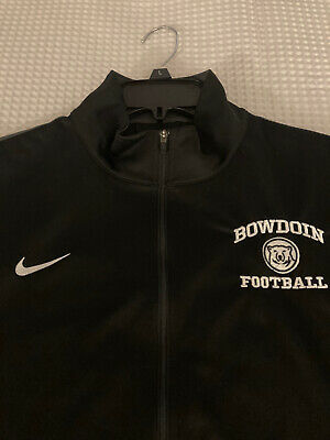 Bowdoin College Polar Bears Football zip up L by Nike Pre-owned