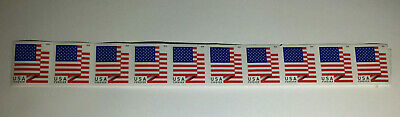 10 USPS Forever Stamps US Star Spangled Banner Flag 2018 Postage  Free Shipping