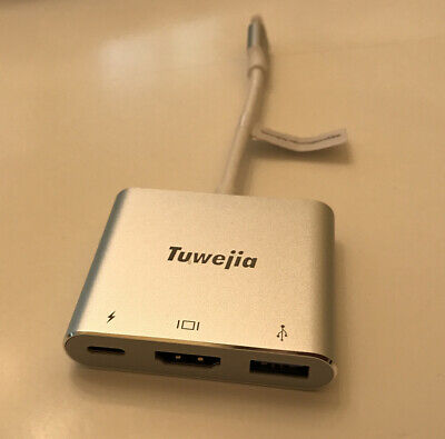 Tuwejia USB-C to Multiport Adapter For MacBook ProChr