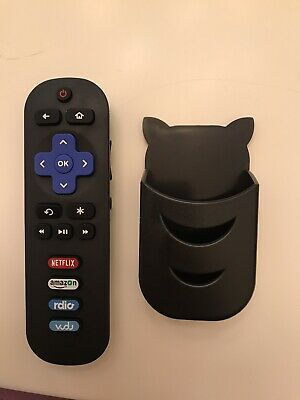 New Replacement Remote for TCL ROKU TV - Remote Holder