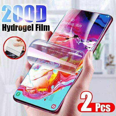 2Pack Full Cover Hydrogel Screen Protector for Samsung Galaxy A52 A32 A71 A51 5G
