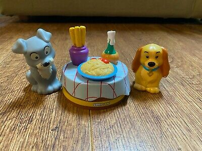 2012 Mattel Fisher Price Disney Lady and the Tramp Little People Set