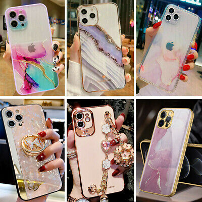 For iPhone 12 Pro Max 11 XR XS Max 8 Plus Shockproof Girls Women Hard Case Cover