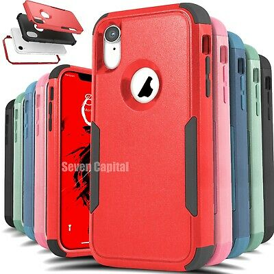 Shockproof Case Cover For Apple iPhone X XR XS Max Heavy Duty Hard Rugged Case