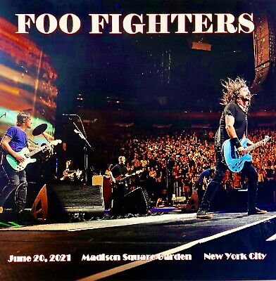 Foo Fighters Live 3 CD Set New York City 6202021 Professionally Recorded