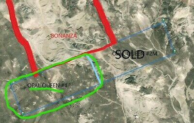 Opal Queen Mine 1 lode claim 20 acres Mining Claim northern Nevada Opals Gems