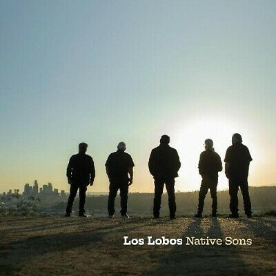 Los Lobos Native Sons BRAND NEW FACTORY SEALED CD  STICKER BOOKLET