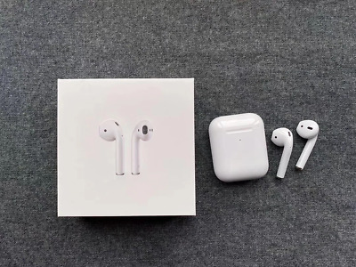 Apple Airpods2nd GenerationWith Wireless Charging Case In Ear Headsets White