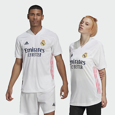 adidas Real Madrid 2021 Home Authentic Jersey Mens