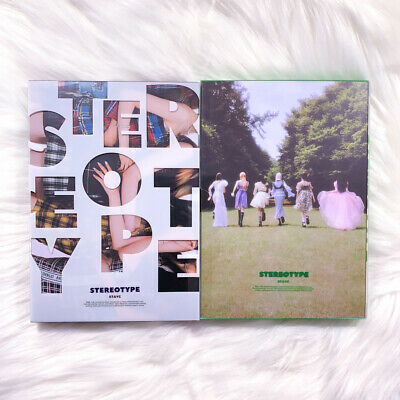 STAYC - STEREOTYPE 1ST MINI ALBUM NO PHOTOCARD SELECT VER KPOP US