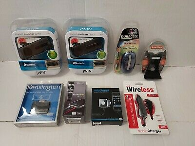 Cell Phone Accessories Lot- Chargers Battery Backups - more- New Old Stock-