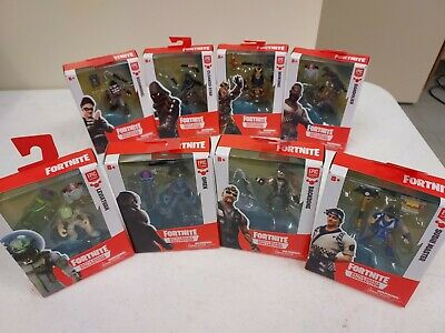 Lot of 8 Fortnite Battle Royale Collection 2 Action Figures - 2018 New