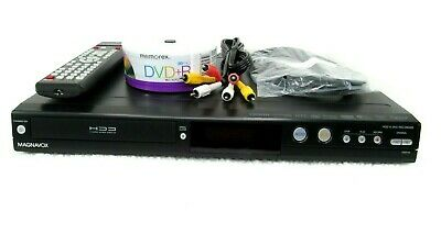 Magnavox MDR515HF7 DVR HDD 500Gb DVD Player Recorder W New Replacement Remote