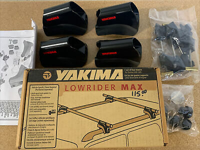 Yakima Lowrider Max set of four 4 towers Part  00136