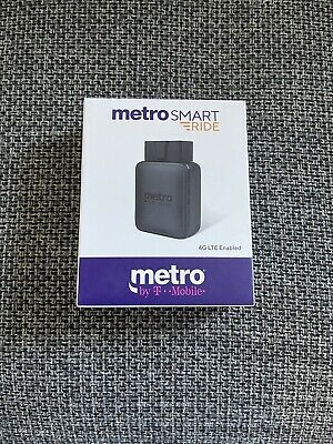 SEALED METRO PCS SMART RIDE BLACK 4G LTE ENABLED WIFI HOTSPOT WITH GPS TRACKING
