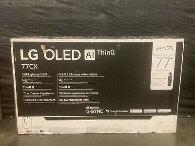 LG 77 CX 4K Smart OLED TV with AI ThinQ 2020