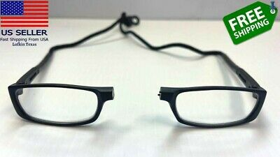 USA CliC Magnetic front connect click Reading hanging Glasses Adjustable1-0-4-0